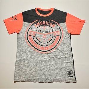 American Fighter tshirt womens sz M printed 2 side